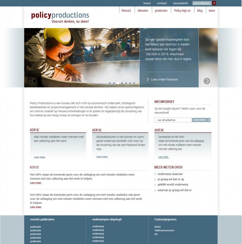 webdesign PP home