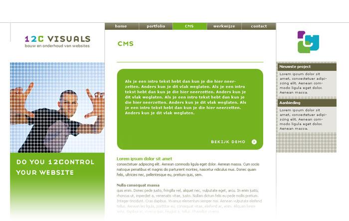 informatiepagina design
