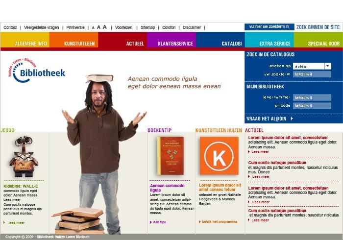 Webdesign Bieb Huizen Laren Blaricum