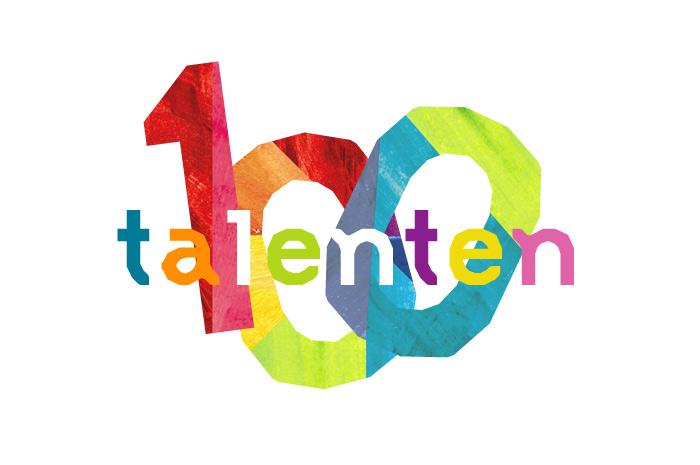 Logo 100 talenten