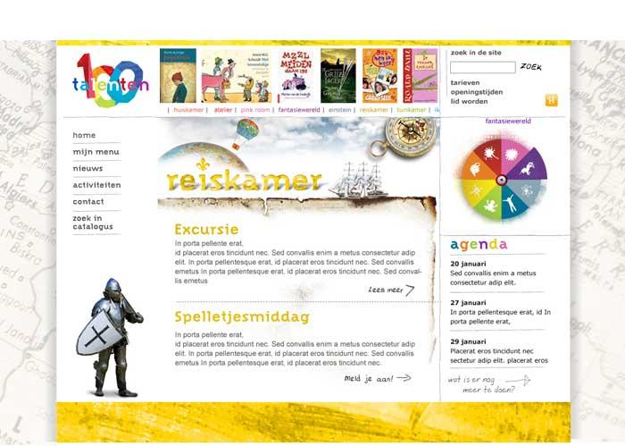 webdesign jeugdbibliotheek geschiedenis