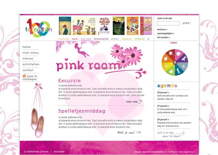 webdesign jeugd ballet