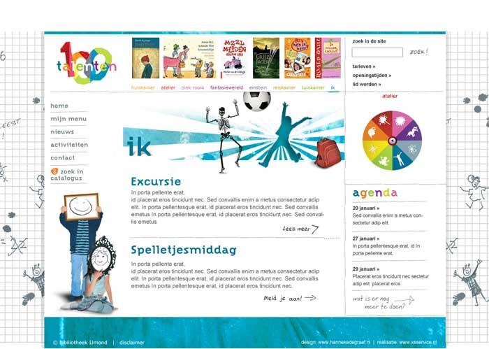 webdesign jeugd dagelijks leven