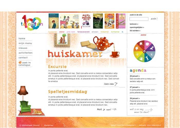 webdesign jeugd huiskamergevoel