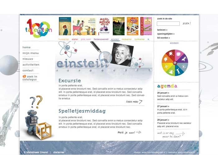 webdesign jeugd wetenschap en techniek