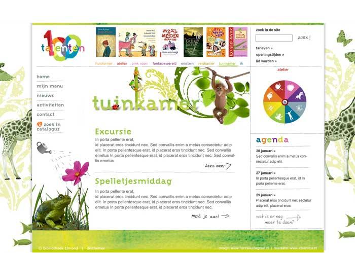 webdesign jeugd natuur