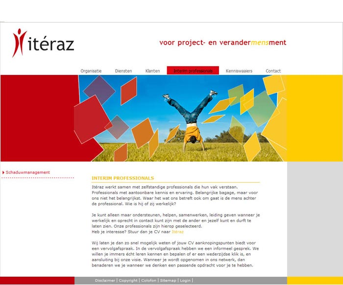 Webdesign Iteraz verandermanagement