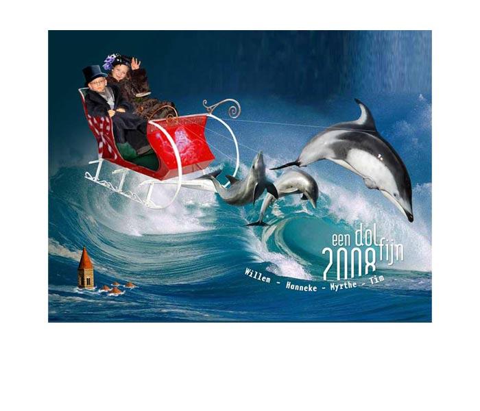 unieke kerstkaart 2008