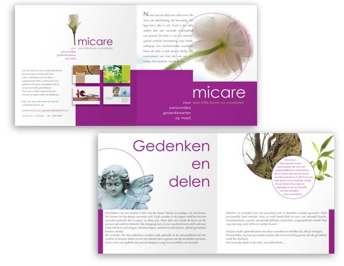 Micare rouwkaarten