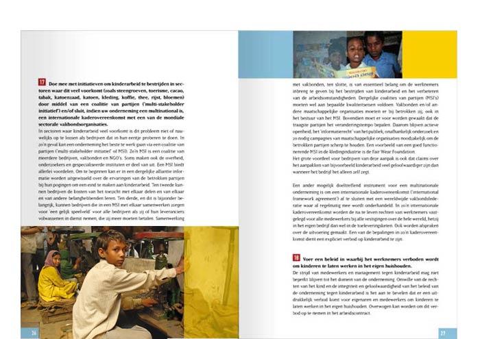 Stop kinderarbeid brochure