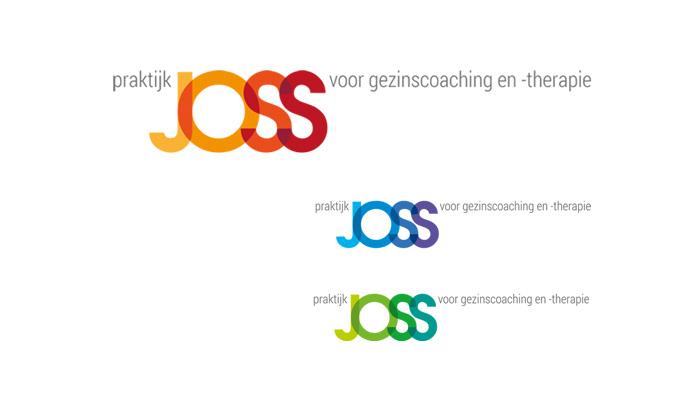 Logo ontwerp Praktijk JOSS voor gezinscoaching en -therapie