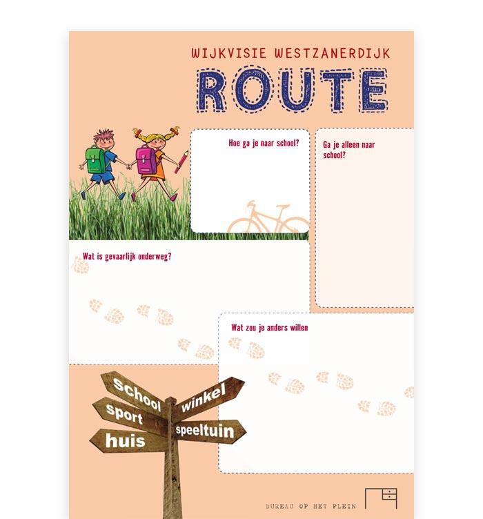 ontwerp route wijkvisie route