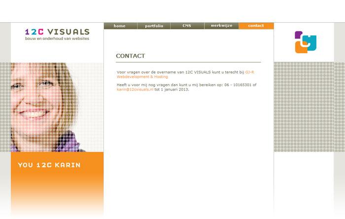 contactpagina design