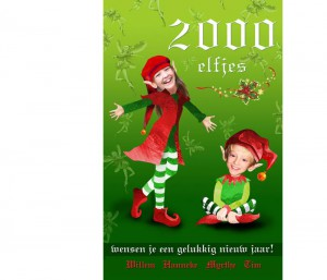 persoonlijke kerstkaart 2011