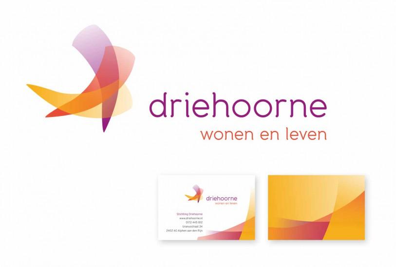 Logo en visitekaartje Driehoorne